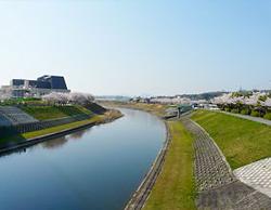 武庫川大橋から見る武庫川